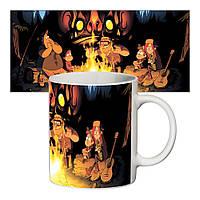 Прикольная чашка Gravity Falls #2