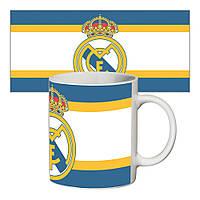 Прикольная чашка ФК Реал Мадрид