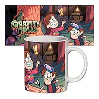 Прикольная чашка Gravity Falls #1
