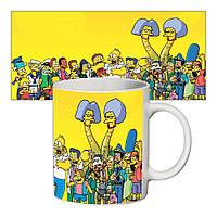 Прикольная чашка Симпсоны #1