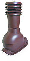 Вентвыход Kronoplast KBX для металлочерепицы очень высокий профиль волна до 45 мм с колпаком, фото 1