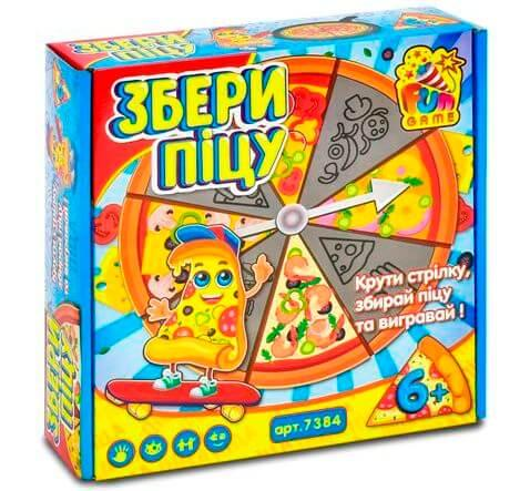 Настольная игра Собери пиццу 7384 Fun Game