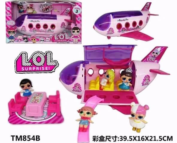 Набор с самолетом куклы LOL Surprise TM854B