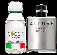 Goccia 302 Версия аромата Allure Homme Sport Chanel 100 мл