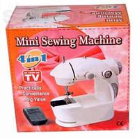 Мини швейная машина 4 в 1 (mini sewing machine) с блоком питания купить в Украине