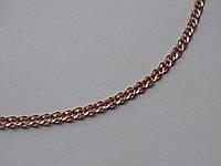 """Золотий ланцюг з плетінням """"Мона Ліза"""", фото 1"""