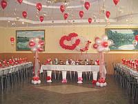 Украшение свадеб воздушными шарами