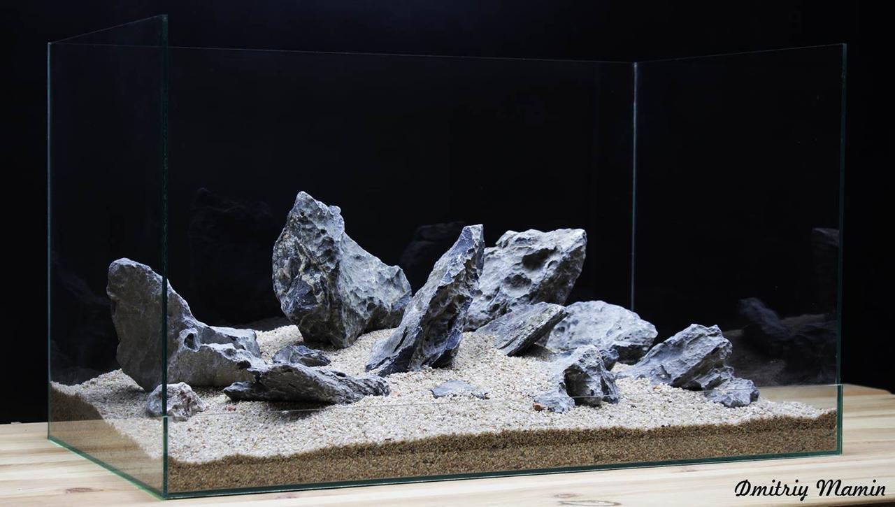 Композиція з Чорного кварцу K123 для акваріума