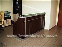 Стол ресепшн офисный. Готовая офисная мебель и коммерческая мебель под заказ в Киеве (R-4)