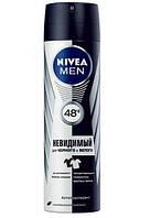 Дезодорант-антиперспирант Nivea for Men Невидимый, 150 ml, GIL