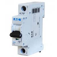 Автоматический выключатель EATON PL4 C6 1p