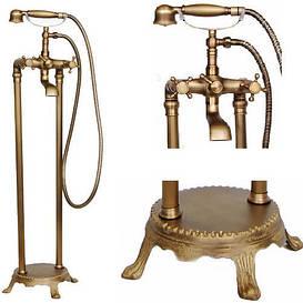 Кран для ванной комнаты смеситель RETRO W-089