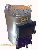 Котел твердотопливный с плитой для варки Бритай КОТВ 18П мощностью 18 кВт