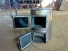 Котел твердотопливный с плитой для варки Бритай КОТВ 18П мощностью 18 кВт, фото 2