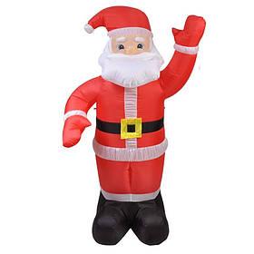 Надувной Дед Мороз Высота 2,4 м