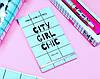 Книга с наклейками Sticker Book City Girl Chic, фото 2