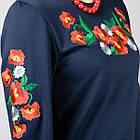 Платье вышиванка Маки (с длинным рукавом), фото 5
