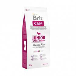 Корм Brit Care Junior Large Breed Lamb Брит Кеа для цуценят гиганські порід з ягням і рисом 12 кг