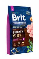 Корм Brit Premium by Nature Adult S Брит Преміум едалт дог S для собак 8 кг
