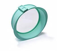 Форма для выпечки разъемная 25x7,5 см. силиконовая со стеклянным дном Fissman