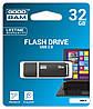 Флеш-накопитель USB 2.0 GoodRam UMO2 32Gb Graphite, фото 2