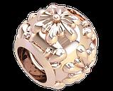 Намистина срібна Шарм Квітка Bs_92219, фото 3