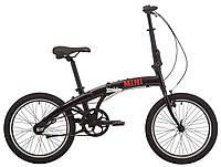 """Велосипед 20"""" Pride MINI 3 черный/ярко-красный 2019, фото 1"""