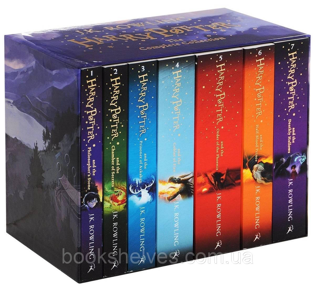 Harry Potter Boxed Set: The Complete Collection (Children's Edition)