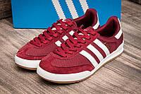 Кроссовки мужские Adidas Jeans, бордовые (2526-3),  [  44 45 46  ]