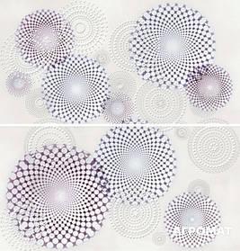 Плитка APE Ceramica Armonia DEC SET (2) SENSAZIONE MALVA декор2