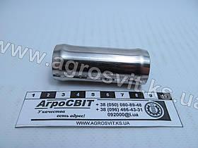 Патрубок (нержавейка) прямой, диам. 25 мм., кат. №