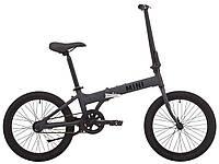 """Велосипед 20"""" Pride MINI 1 темно-серый/черный 2019, фото 1"""