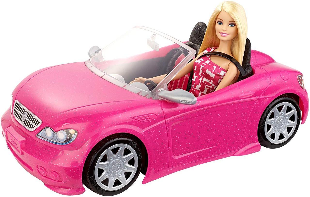 Кукла Барби с машиной кабриолетом Barbie Mattel