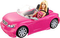 Кукла Барби с машиной кабриолетом Barbie Mattel, фото 1