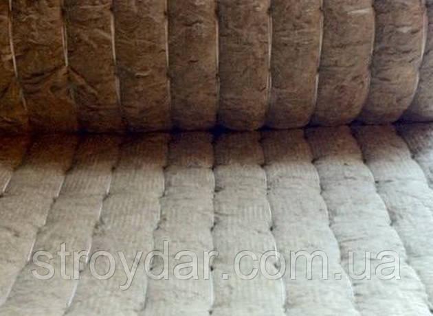 Мати мінераловатні прошивні в обкладанні з склотканини М60 100мм