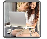 Складной столик для ноутбука с вентилятором Limitless Comfort