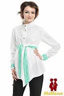 Блуза для будущих мам с длинным рукавом