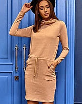 Женское платье с воротником-хомутом (Дилараkr), фото 2