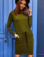 Женское платье с воротником-хомутом (Дилараkr)