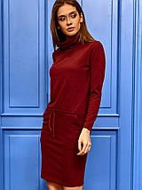 Женское платье с воротником-хомутом (Дилараkr), фото 3