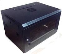 Hypernet WMNC-9U-black Шкаф коммутационный настенный 9U 600x450 черный Hypernet WMNC-9U-black