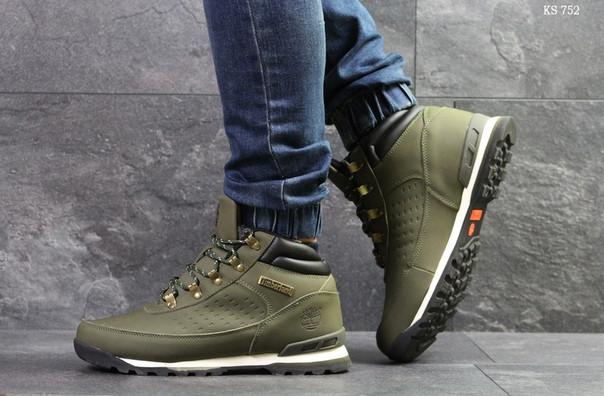 Зимние ботинки Timberland (зеленые)