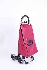 Сумка-тележка на колесах Avanti 4 Basic бордо