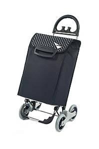 Сумка-тележка на колесах Avanti 4 Basic синяя с точку