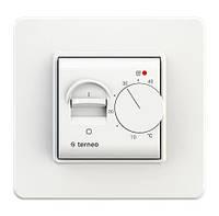 Терморегулятор механический для теплого пола  terneo mex белый