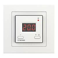Терморегулятор цифровой для теплого пола terneo st unic белый