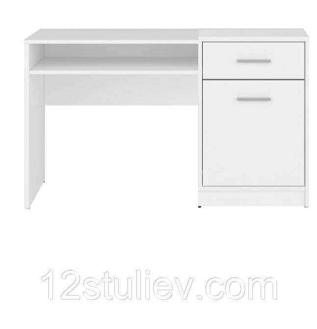 Стол письменный BIU120 Непо белый