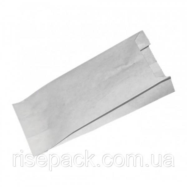 Пакет бумажный белый 15х29