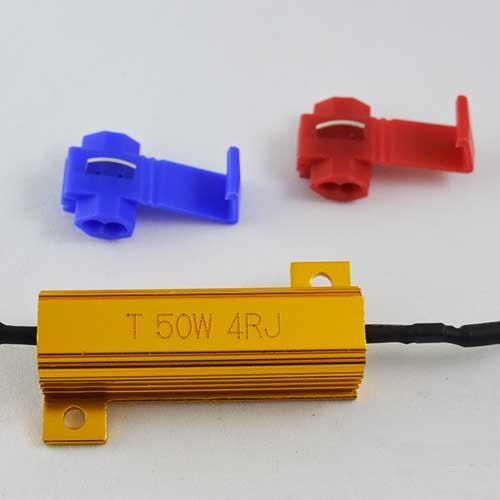 Нагрузочный резистор (обманка LED ламп) 50Вт., 4 Ом.