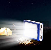 Power Bank Solar 30000mah солнечная батарея + сверхяркая 20 LED панель